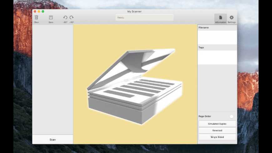 My Scanner for Mac - review, screenshots
