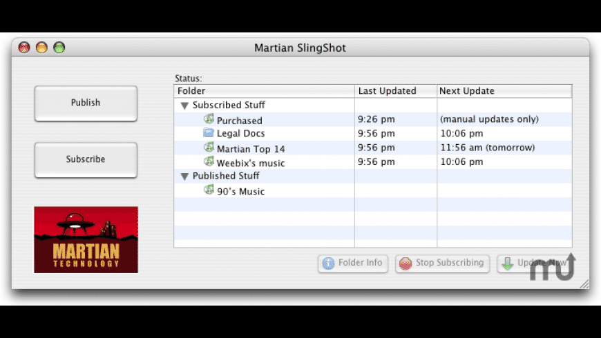 SlingShot for Mac - review, screenshots