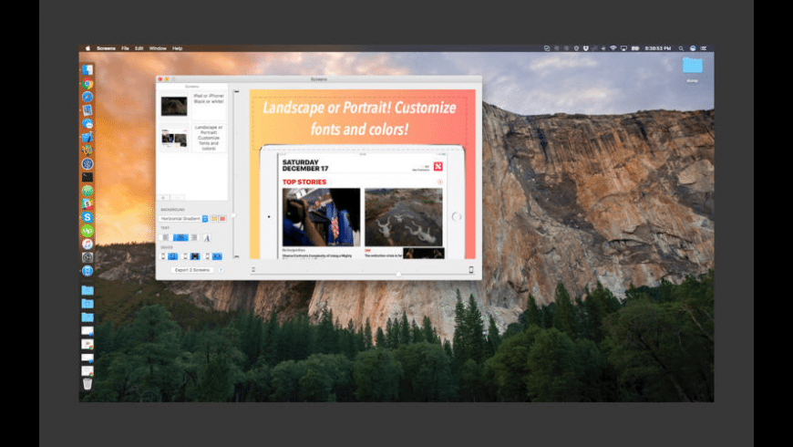 Screenshots for Mac - review, screenshots