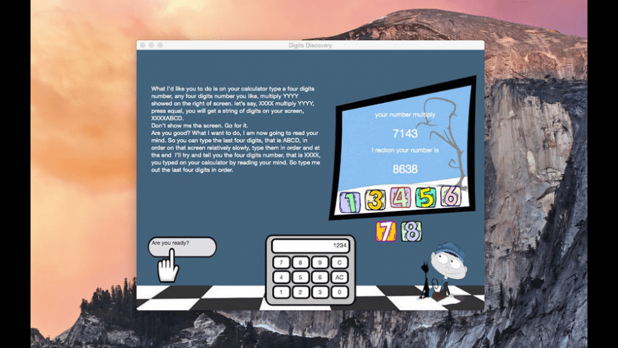 Digits Discovery for Mac - review, screenshots