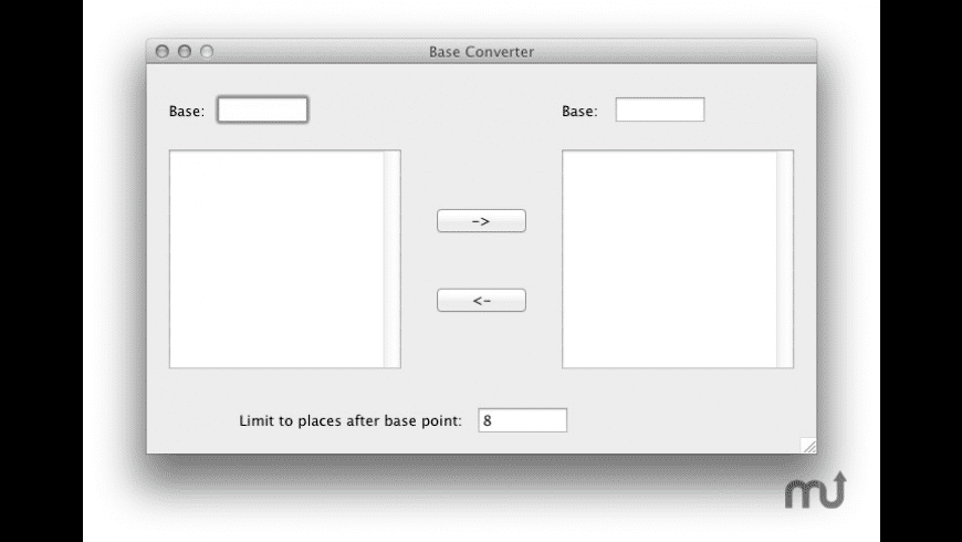 Base Converter for Mac - review, screenshots