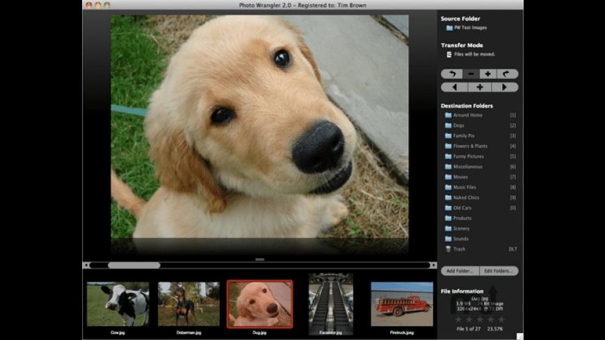 Photo Wrangler for Mac - review, screenshots