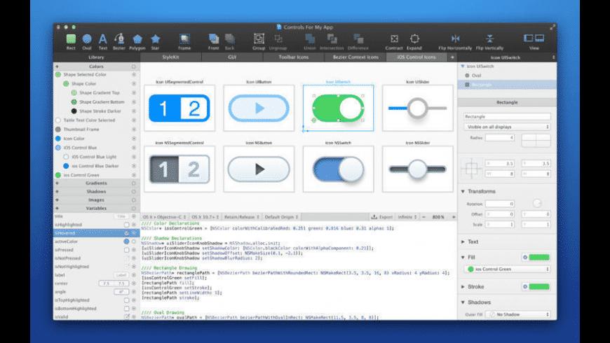 PaintCode for Mac - review, screenshots