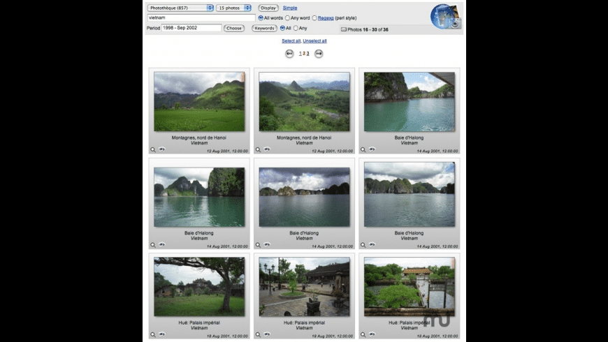 Web iPhoto Access for Mac - review, screenshots