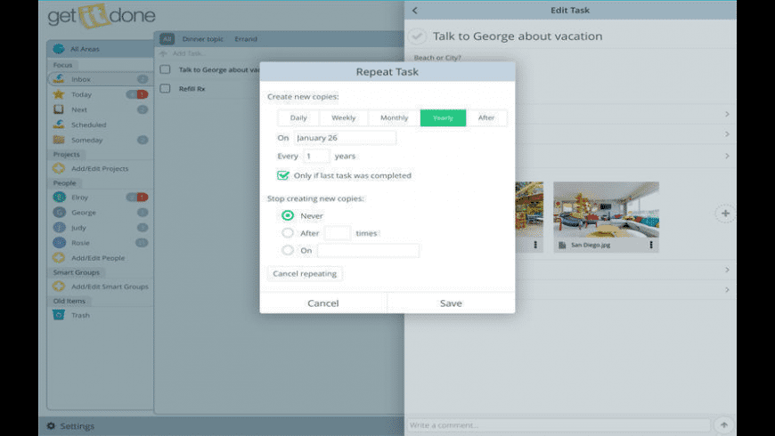 Get It Done for Mac - review, screenshots