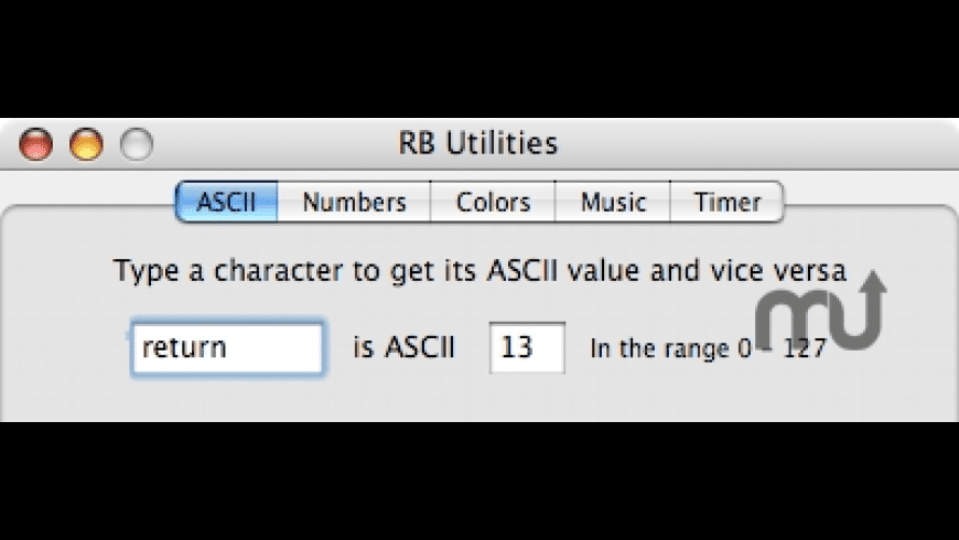 RB Utilities for Mac - review, screenshots