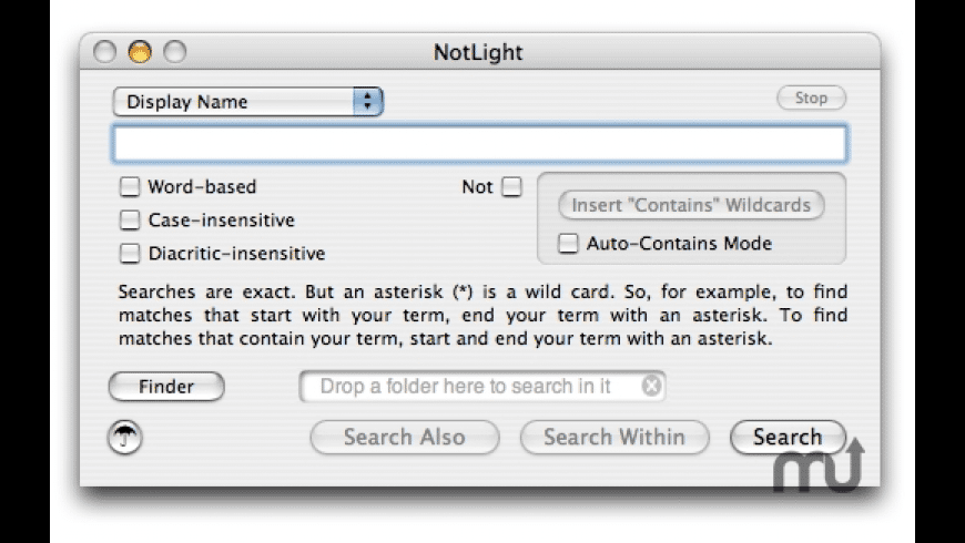 NotLight for Mac - review, screenshots