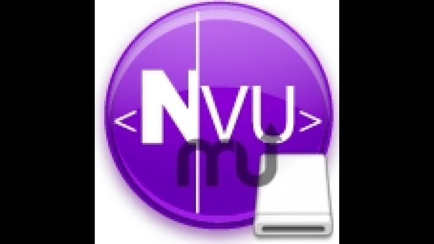 Portable Nvu for Mac - review, screenshots