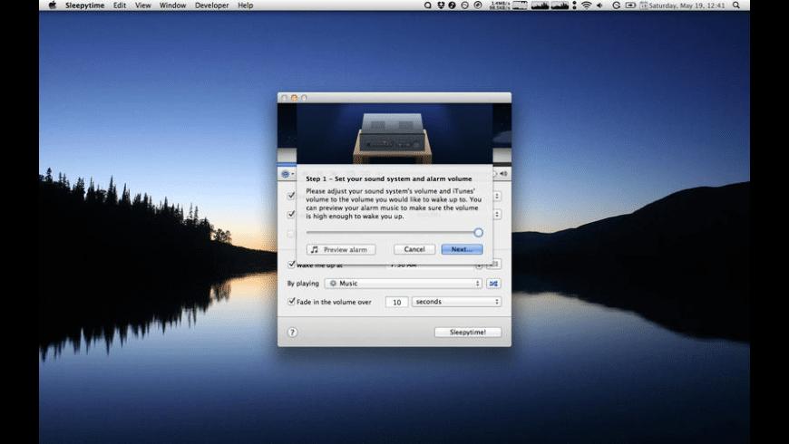 Sleepytime for Mac - review, screenshots