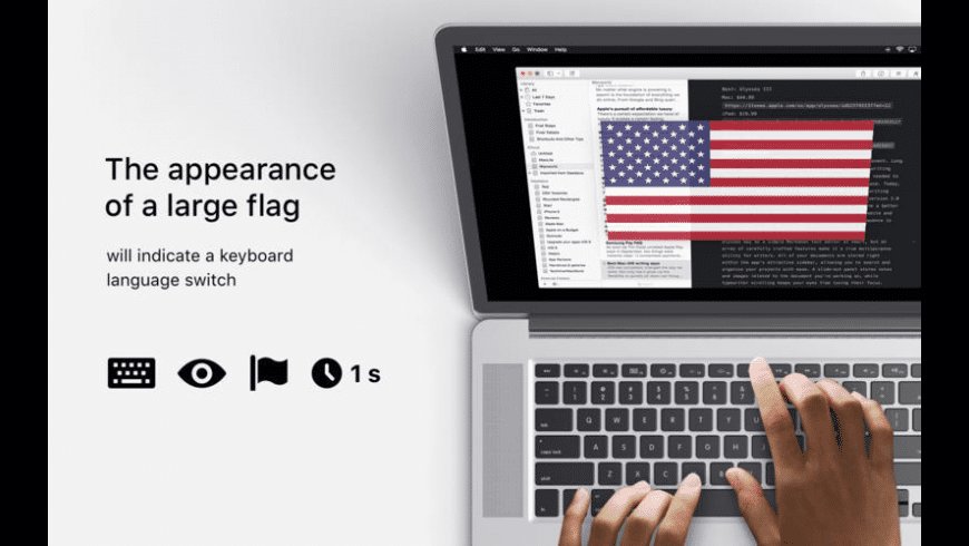 FlagSwitcher for Mac - review, screenshots