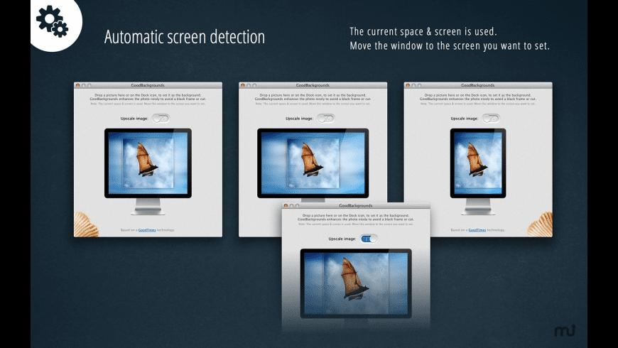 GoodBackgrounds for Mac - review, screenshots