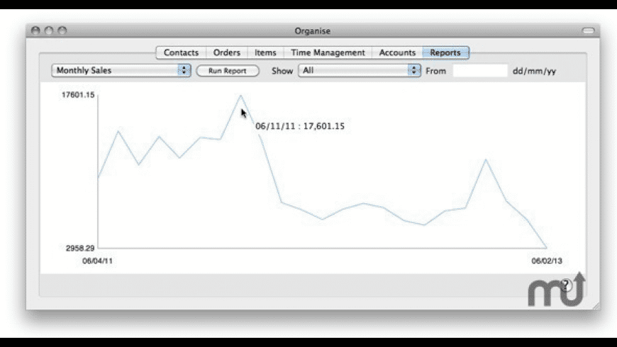 Organise for Mac - review, screenshots