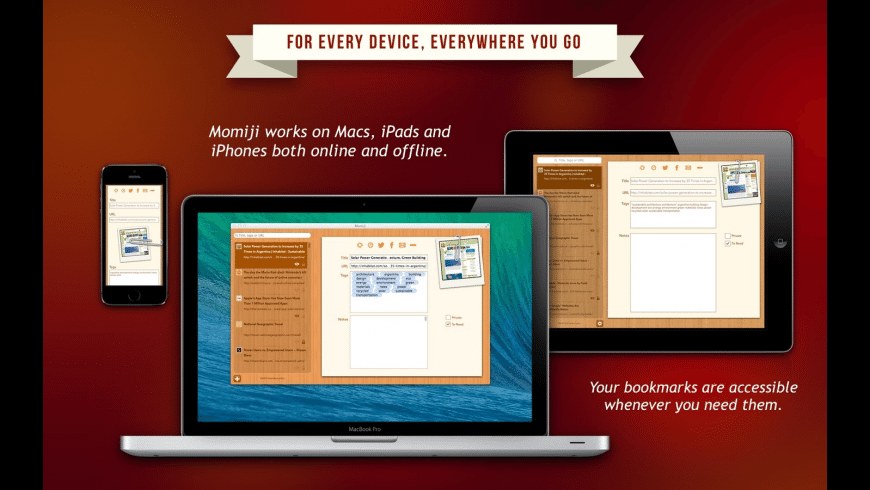 Momiji for Mac - review, screenshots