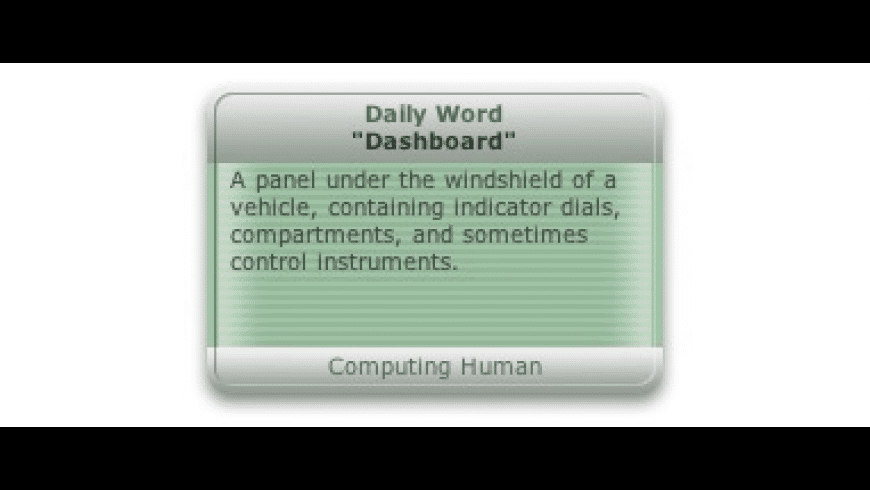 Daily Word for Mac - review, screenshots