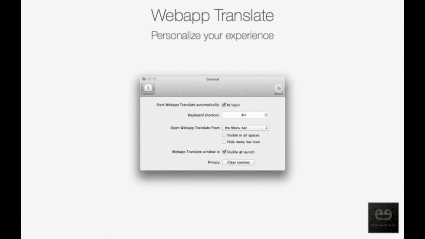 Webapp Translate for Mac - review, screenshots