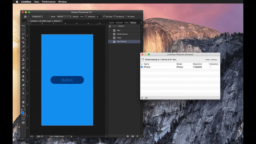 LiveView for Mac - review, screenshots