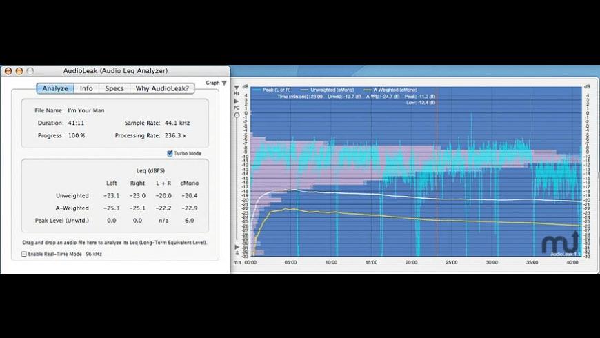 AudioLeak for Mac - review, screenshots