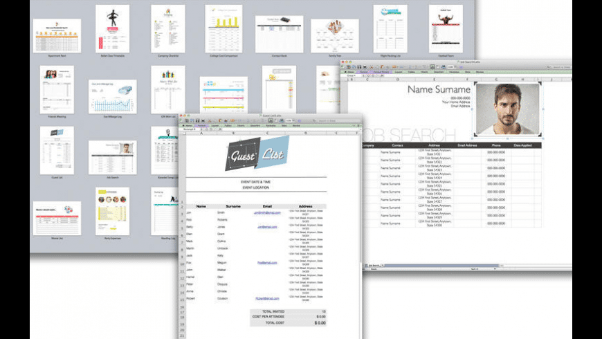 Set for MS Excel for Mac - review, screenshots