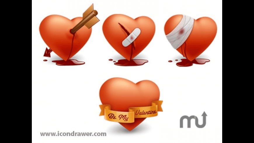 Valentines Day Icons for Mac - review, screenshots