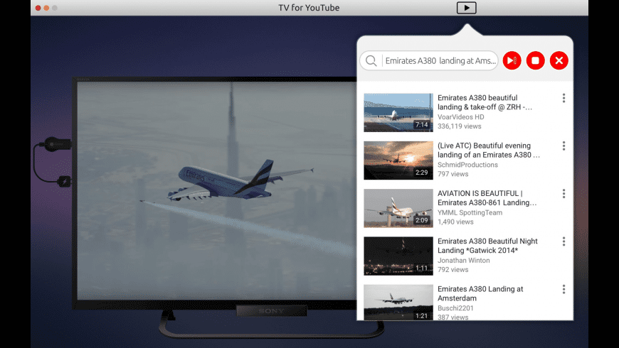 TubeCast for Mac - review, screenshots