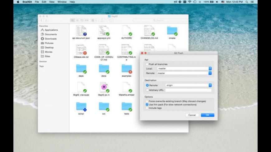 SnailGit for Mac - review, screenshots