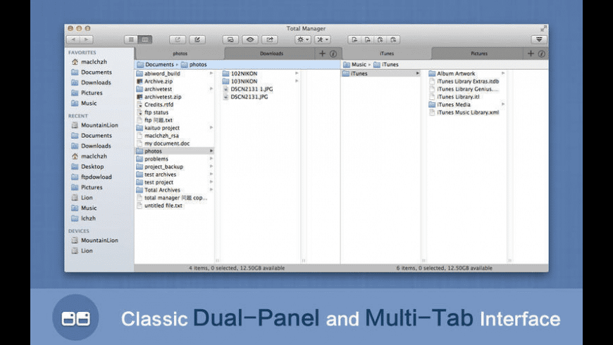 Total Manager for Mac - review, screenshots