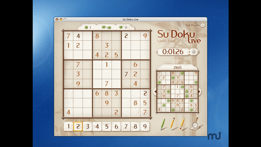 Su Doku Live for Mac - review, screenshots