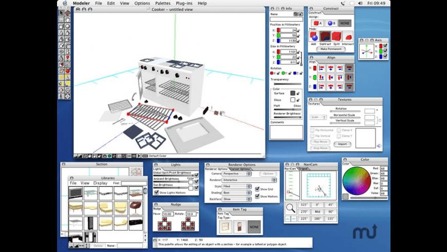 Microspot Modeler for Mac - review, screenshots
