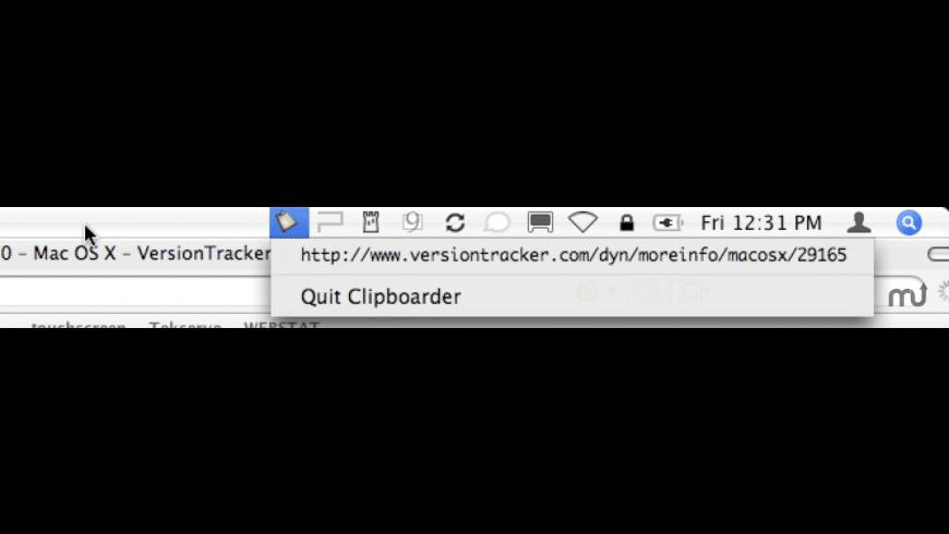Clipboarder for Mac - review, screenshots