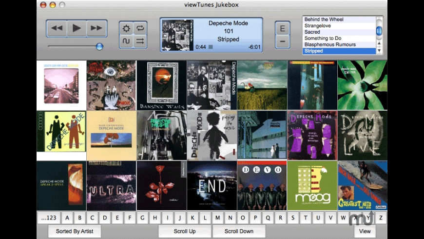 viewTunes Jukebox for Mac - review, screenshots