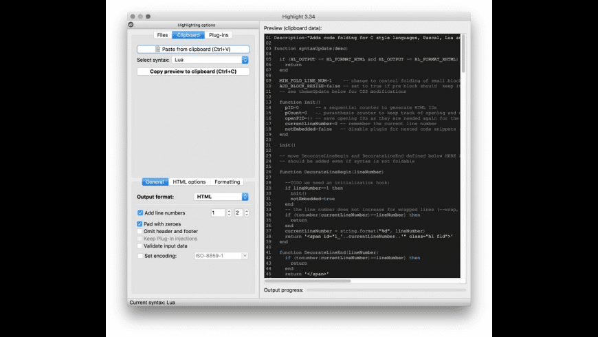 Highlight for Mac - review, screenshots