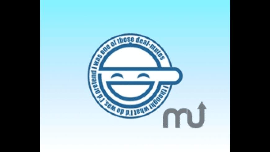 Laughing Man Screensaver for Mac - review, screenshots