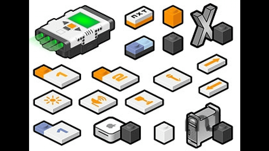 NXT LEGO icons for Mac - review, screenshots