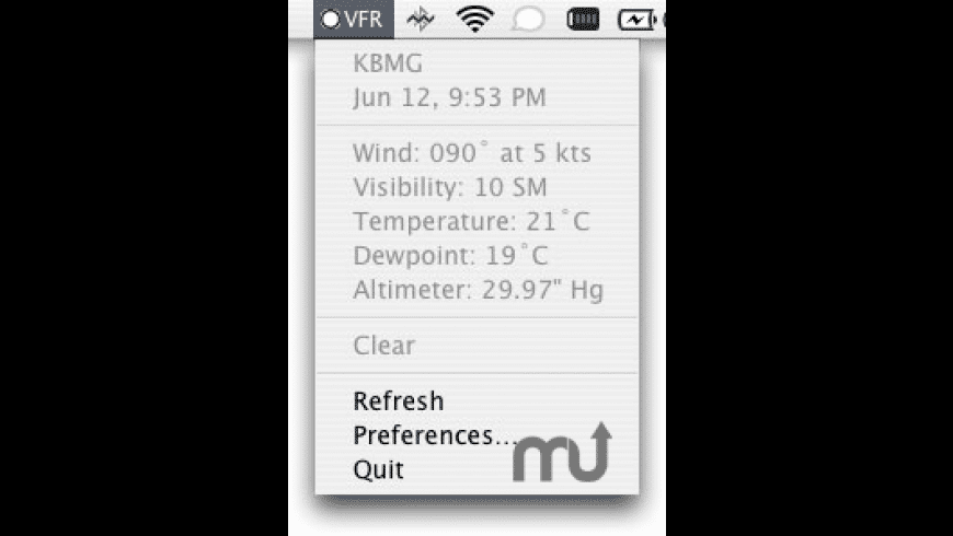 AviWX for Mac - review, screenshots