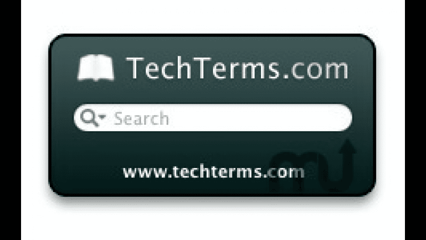 Tech Terms Computer Dictionary for Mac - review, screenshots