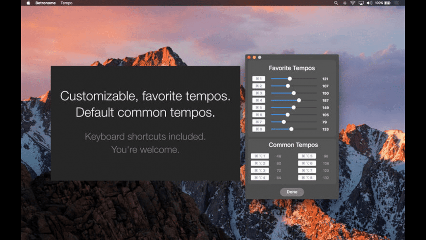 Betronome for Mac - review, screenshots