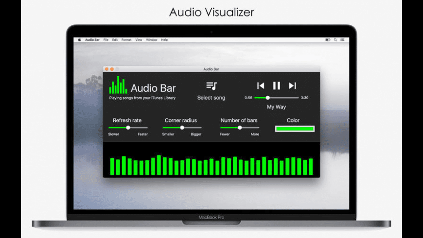 Audio Bar for Mac - review, screenshots