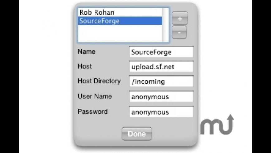 FTP Uploader for Mac - review, screenshots