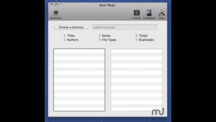 Book Magic for Mac - review, screenshots