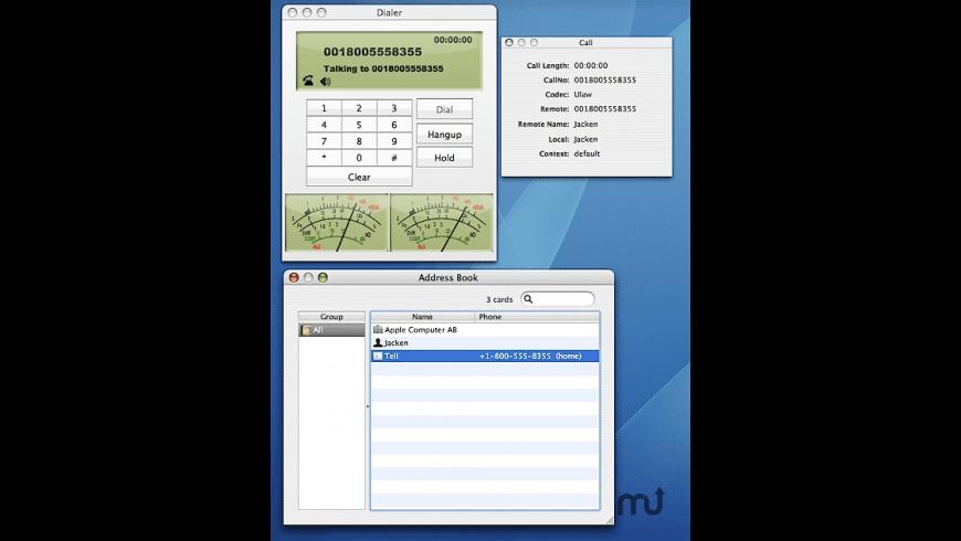 JackenIAX for Mac - review, screenshots
