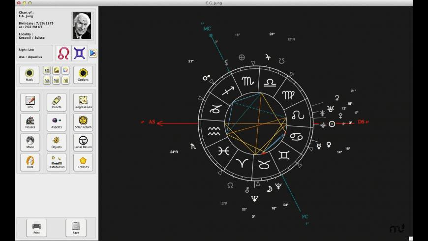 L'Astrologue for Mac - review, screenshots