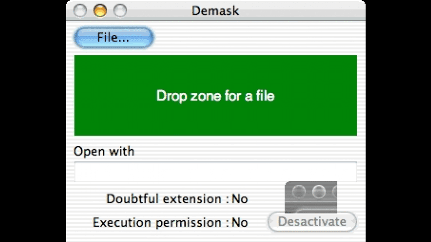 Demask for Mac - review, screenshots