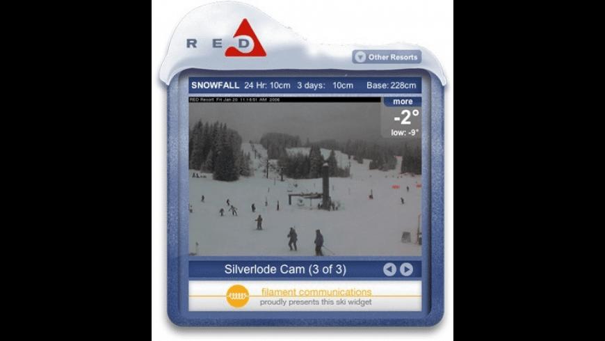 Ski Conditions Widget for Mac - review, screenshots
