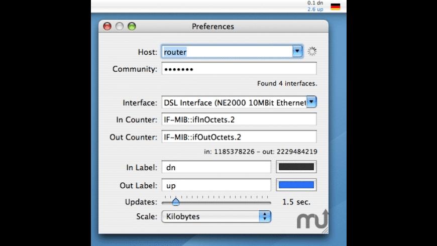 SNMP Status for Mac - review, screenshots