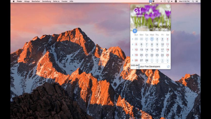 miCal for Mac - review, screenshots