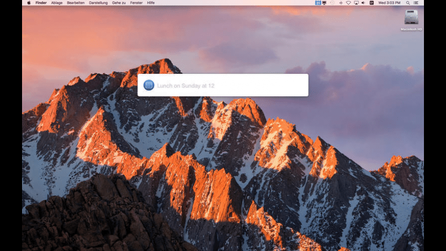 miCal for Mac - review, screenshots