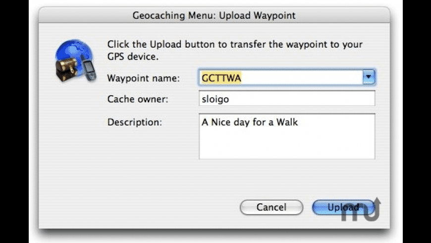 Geocaching Menu for Mac - review, screenshots