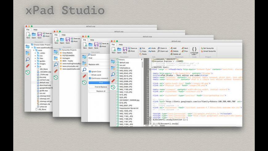 xPad Studio for Mac - review, screenshots