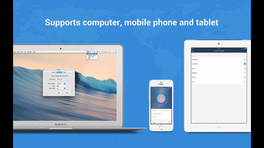 Voyager VPN for Mac - review, screenshots