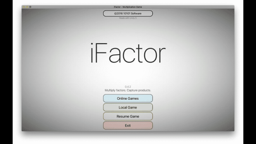 iFactor for Mac - review, screenshots
